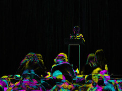 Awaiting judgement at the spelling bee (Thiophene_Guy) Tags: thiopheneguy originalworks olympustoughtg4 tg4 olympustg4 olympusstylustg4 tough colour colors colours rainbow color surreal thsfeset harrisshutter effect rainbowcolors aleatoric dynamic dynamism action motion movement subtractivefilterhse subtractivedifferenceharrisshuttereffect subtractivefilter negativespace