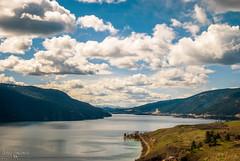 Kal Lake Vernon BC (Fraser8888) Tags: canada vernon bc nikon 35mm lake mountains water clouds sky blue landscape