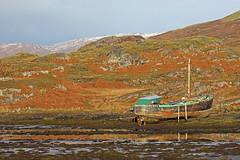 Old Boat, Culduie, Highland, Scotland (Terathopius) Tags: culduie highland scotland unitedkingdom uk greatbritain gb landscape