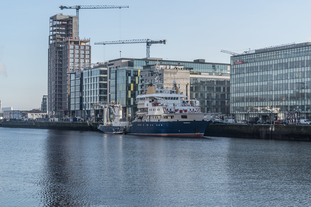 ILV GRANUAILE VISITS DUBLIN [11 JANUARY 2018]-135372