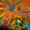 Sun Atom (MattCrux) Tags: art artwork painting expression colorful artist acrylic arts artistic creative psychedelicart trippyart psyart weirdart acidtrip acidart dmt lsdtrip psychedelics psychedelia psicodelia psicodelico visionaryart paintingart acrylicart abstracto abstraction abstract abstractart spraypaint markers