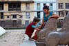 Nepali woman and baby playing with lion statue, Kathmandu, Nepal (Alex_Saurel) Tags: statue portrait newariarchitecture sandales salwarkameez portraiture posing portray sandals jouer halfbody asie culture 35mmprint pavés scans fenêtres pose playing woodcarving asian windows pattern motif group woodwindows people nepalinepaliwoman statuesdelion nepalichild cheveuxnoirs asia streetscene cobblestones architecture travel blackhair hands lifescene dalles immeubles slabs imagetype baby photospecs photoreport woolcoat photoreportage reportage enfantnépalais arms bracelet stockcategories photojournalism mains day plantaille blackhairs traditional time buildings tradition nepal scènedevie lifestyles newārwindow sony50mmf14sal50f14