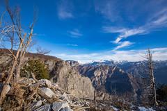 On the Edge (Chorizo from Berlin) Tags: albania blue korita winter border canyon mountains sky montenegro podgorica me