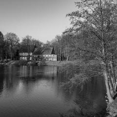 Wassermühle (p.schmal) Tags: olympuspenf ahrensburg schloss schlossgraben wassermühle