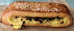 """the """"pepito"""" from Les Gourmands Bakery (Fuzzy Traveler) Tags: pepito lesgourmandsbakery bakery french pastry dessert sweet custard bread chocolate sugar"""