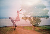 Reach the tree (Wood Oliver) Tags: film 135 lomo lca minitar 32mm28 quantaray eos5 2890mm3556 double exposures agf vista asa400 red dancing