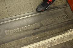 Sperrrmauer (Andmtorres) Tags: berlim berlin alemanha alemania deutschland germany downtown metro muro wall mauer history
