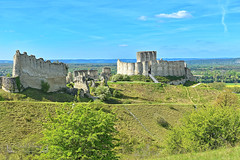 Les Andelys, Dep Eure, Region Normandie ( photopade (Nikonist)) Tags: châteaugaillard lesandelys eure nikon nikond7100 normandie château châteaufort castle féodale féodal imac apple moyenage macintosh médiéval paysage nature