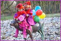 Milina Sanrike ... (Kindergartenkinder) Tags: kindergartenkinder annette himstedt dolls sanrike gruga grugapark essen karneval fasching milina kostüm