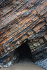Layers (Rich Walker75) Tags: devon beach nationaltrust rock cliff geology nature formation pattern patterns layer layers landscape landscapes landscapephotography beaches canon eos100d efs1585mmisusm eos
