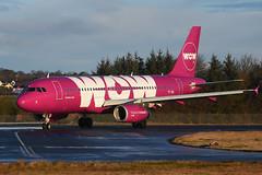 TF-SIS Airbus A320-232 EGPH 11-02-18 (MarkP51) Tags: tfsis airbus a320232 a320 wowair ww wow edinburgh airport edi egph scotland aviation aircraft airliner airplane plane image markp51 nikon d7200 sunny sunshine aviationphotography