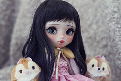 Little Akira *tomorrow* (-Poison Girl-) Tags: pullip pullips doll dolls custom customs full akira for adoption fa poisongirlsdolls poisongirldolls poison girl black hair wig long waves wavy fringe bangs eyes eyechips realistic blue handmade handpainted repaint repainted paint eyelashes eyebrows eyeshadoe lips mouth nose carving carved cute natural sweet nice makeup faceup junplanning jun planning groove grooveinc white skin skintone fair 2018
