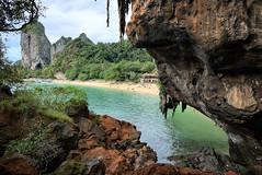 Ao Phra Nang Beach (msvetec) Tags: ao nang krabi thailand beach sea cave