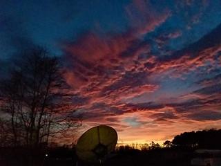 Evening Sky Fairmont, NC.