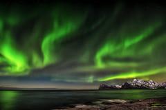 Raging lady Aurora (steinliland) Tags: northernlights norway lofotenisland auroraborealis arcticnature arctic mountains coastallandscape
