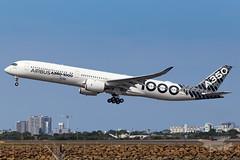 F-WLXV Airbus A35K 34L YSSY-4933 (A u s s i e P o m m) Tags: airbus a35k a3501000 syd yssy sydneyairport aib359 mascot newsouthwales australia au a350xwbtour
