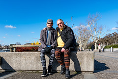 Zürich, 13. Februar 2018 (karlheinz klingbeil) Tags: zürich collant stricken schweiz manninstrumpfhose tights fashion city knitting strumpfhose mode menintights stadt