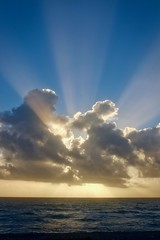 The Sun's Rays (Symbiosis) Tags: rays raysoflight god spirituality godslight prayer awakening devine ocean atlanticocean fortlauderdaleflorida meditation guidinglight