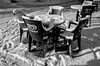 Algida Nix (Guido Colombini) Tags: freddo bw neve tavolo bianconero sedia cafe mountain bar