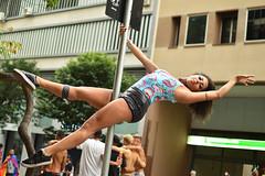 the enchanting soul of the streets (RegiCardoso) Tags: reginaldocardoso rua fotografiaderua photography street streetphotography contemporaryphotography brasil brazilian woman fraulein mulher carnaval carnival karneval poledance