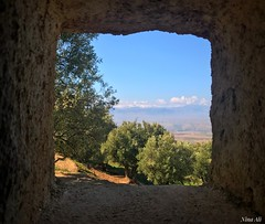 Latrine, Moroccan style!  This one had a view over the Lower Atlas Mountains. (Nina_Ali) Tags: atlasmountains morocco northafrica viewthroughthewindow ninaali february2018