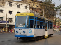 Kolkata 630A Esplanade (Guy Arab UF) Tags: west bengal transport corporation 630a modernised fibre glass bodied single section bogie tram esplanade kolkata india calcutta tramways tramway streetcar strassenbahn trams