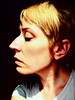 Special Snowflake (illustratedwoman) Tags: profile woman face nose neck pixiecut