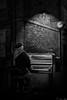Street Music (Aziz Peps) Tags: york travel voyage england piano bw blackwhite black monochromatic monochrome blackandwhite nikon d750 tamron lowlight nightshot street streetphotography streetart