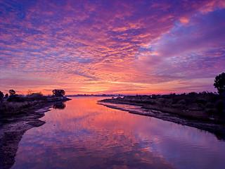 Damon Slough [Red] Sunset