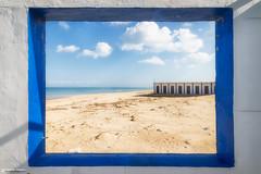 Window (Alberto Ligori) Tags: seleziona beach stm efs reflex torrechianca puglia apulia landscape paesaggio lecce sea spiaggia finestra window lido