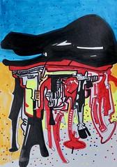 Jim Harris: Untitled. (Jim Harris: Artist.) Tags: art arte zeitgenössische zeichnung dessin drawing avantgarde abstractart space