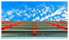 Up a Wall (Timothy Valentine) Tags: 0417 building sky 2017 vacation ourhotel sliderssunday sanjuan puertorico pr