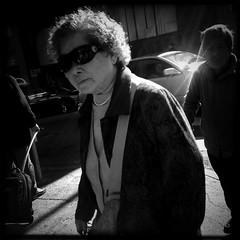 No Words (Jeremy Brooks) Tags: bw blackwhite blackandwhite california chinatown people sanfrancisco sanfranciscocounty strangers street sunglasses usa iphone unitedstates us
