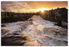 River Wharfe (.Wadders) Tags: lintonfalls riverwharfe river sunrise water waterfall yorkshire yorkshiredales d600 ngc nikonfxshowcase nikkor1635mmf4