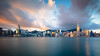 Hong Kong skyline in the morning over Victoria Harbour, Hong Kong China (Patrick Foto ;)) Tags: architecture asia asian background bay beautiful beauty blue building business central china chinese city cityscape cloud cloudy colorful day downtown famous ferry harbor harbour hato holiday hong hongkong international kong landmark landscape metropolis modern morning office over panorama peak port rain scene sea sky skyline skyscraper storm tower travel typhoon urban victoria view water kowloon hk
