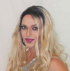 Closeup time! (queen.catch) Tags: catchqueenyoutube closeup tranny shemale transgender drag queen wig makeup femboy beautyboy feminization boytogirl