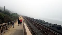 Coastal Trail (EmperorNorton47) Tags: sanclemente california photo digital winter trail boardwalk walkers pedestrians ocean tracks railroad beach