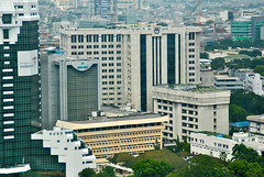 Kemenhan RI (Everyone Sinks Starco (using album)) Tags: jakarta building gedung architecture arsitektur office kantor