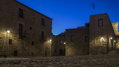 Place of palaces (52weeks2018#04 - Starts with P) (ponzoñosa) Tags: cáceres extremadura españa spain unesco palace renacimeinto renaissance ovando miguel plaza square night blue hour 52weeks 52 got game thrones kings landing juego tronos desembarco rey