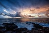 After the storm, Sunrise, Poipu, Kauai (drpeterrath) Tags: anon canon 5dsr landsape seascape poipu kauai hawaii color weather atmosphere clouds ocean waves pacifi rocks cliff blue