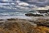 La Baia delle Orte (diegozizzari) Tags: otranto mare onde cielo colori panorama scogli scogliera nuvole lecce orte palascia salento