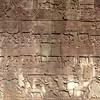 Bayon bas-relief I (daniel_james) Tags: 2018 canon6d canon1635mm cambodia kambodscha temples angkor bayon ruins grasshopperadventures basrelief scultpture stone square southeastasia khmer