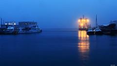 Ambiance hivernale sur le port de Brest (gaelkervarec) Tags: brest brestlife pluie port commerce abeille bourbon penn bed remorqueur pilote bateau nuage bruine hiver