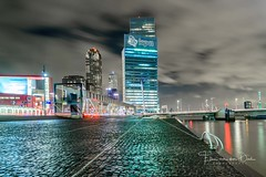 KPN (Ellen van den Doel) Tags: erasmugbridge color bridge reflection reflectie city avondfotografie januari rotterdam photography sky skyline wolken night workshop building erasmus fotografie nederland outdoor evening clouds holland cursus skyscraper stad lucht 2018 avond water cityscape netherlands light zuidholland nl