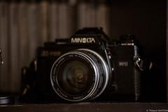 Rokkor 28mm f/3,5 (Maestr!0_0!) Tags: minolta rokkor gear 28mm x700 analog pellicule camera lens objectif photo gas vintage