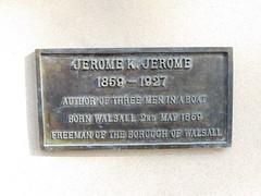 Jerome K Jerome - Walsall Arboretum Bust 003 (touluru) Tags: brownhills lichfield walsall west midlands ws jerome k three men boat arboretum bust