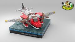 Island Hopper Redux 01 (1dontget1t) Tags: lego system adventurers redux reimagined reimagination classic johnny thunder plane mini 5935 seaplane dino island