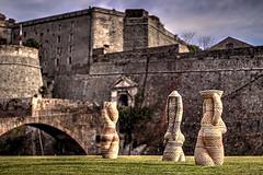Sculture (brunkfordbraun) Tags: priamar fortress fortezza sculptures sculture hdr savona liguria italy