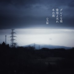 グレイな眼 雲母よ光れ 冬の雨[山乃鯨] #haiku #photohaiku #poetry #winter #micropoetry #冬 #フォト俳句 #Japanese #写真俳句 #snapseed #phonto #jhaiku #mpy #vss #3lines #poem #shortpoem (Atsushi Boulder) Tags: 俳句 季語 五七五 photo photography verse literature japan 575 haiku photohaiku poetry winter micropoetry 冬 フォト俳句 japanese 写真俳句 snapseed phonto jhaiku mpy vss 3lines poem shortpoem