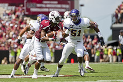 ECU Football '12 (R24KBerg Photos) Tags: sports football eastcarolina ecu pirates athletics canon 2012 southcarolina gamecocks williamsbricestadium ecupirates greenvillenc ncaa